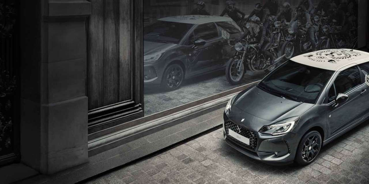 DS 3 CAFÉ RACER LIMITED EDITION – REFERENCES GREAT BRITAIN WITH ATTITUDE