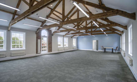 Converted modern office space in historic grounds available to let after £240,000 investment