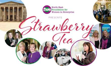Join over 170 north east businesswomen for Strawberry Tea!
