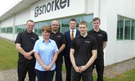 FOUR YOUNG PEOPLE SECURE WORK AT REGIONAL MANUFACTURER