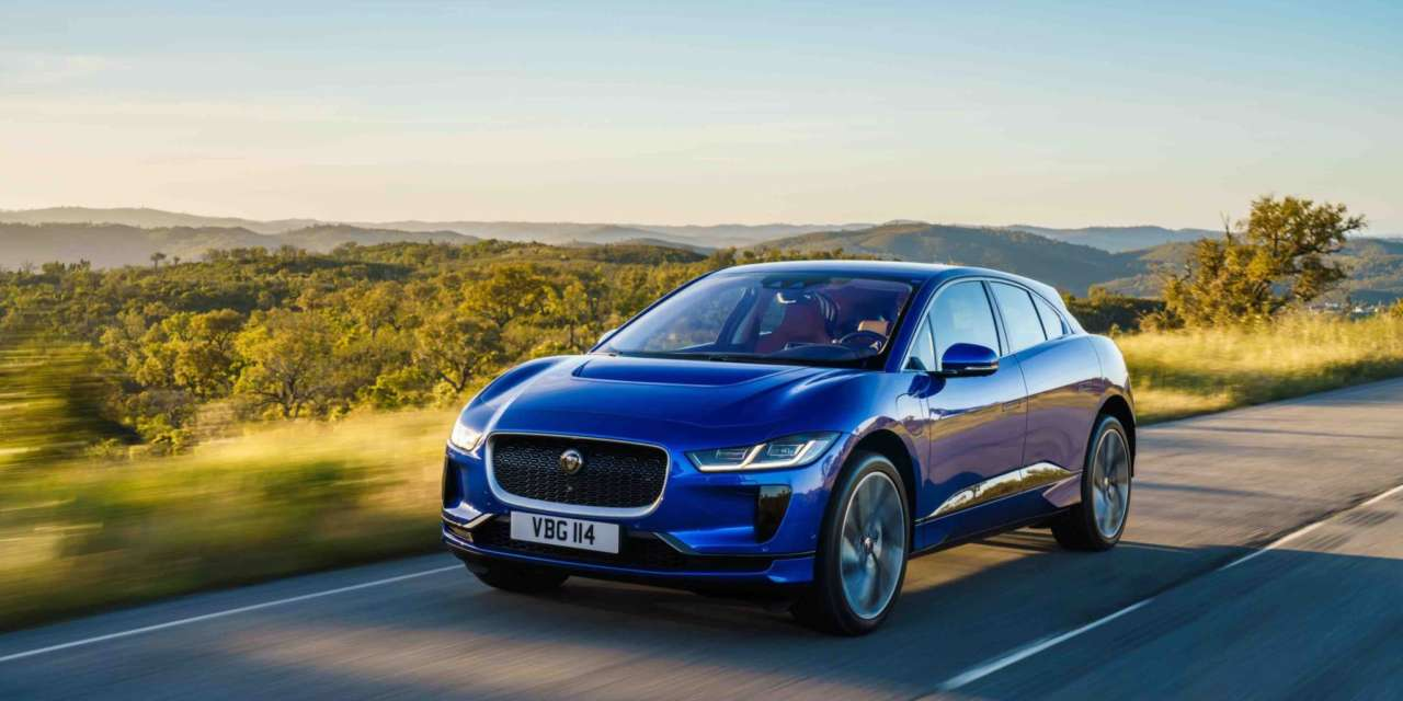 JAGUAR I-PACE JOINS COMPANY CAR IN ACTION 2018