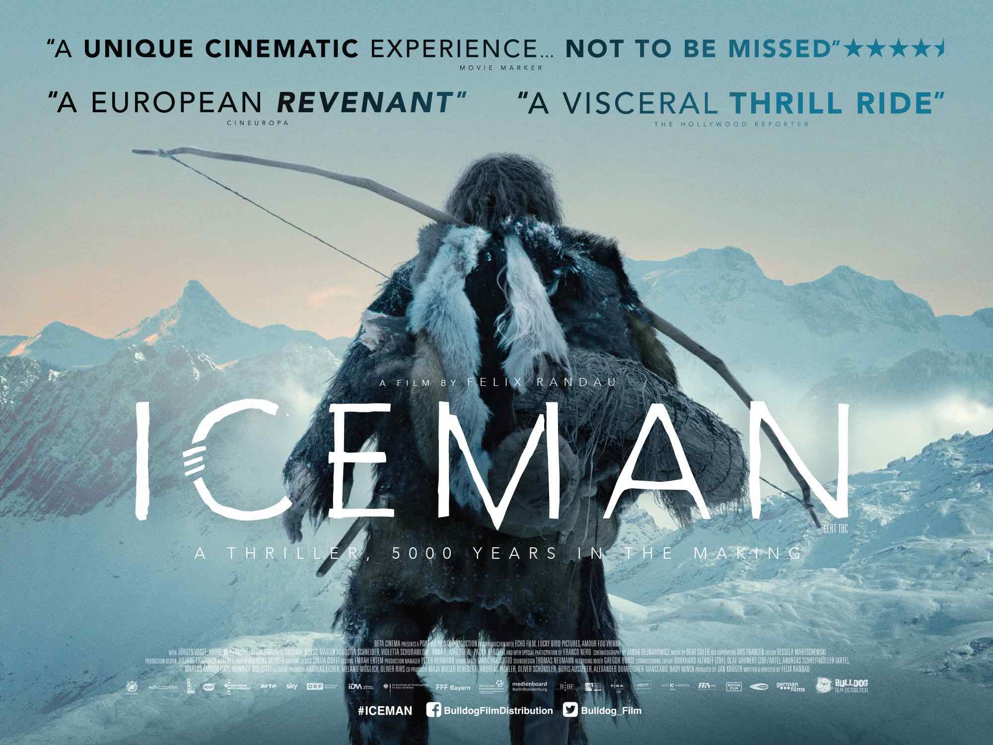 **NEW TRAILER & POSTER** Immersive and visually stunning ICEMAN in cinemas 27th July
