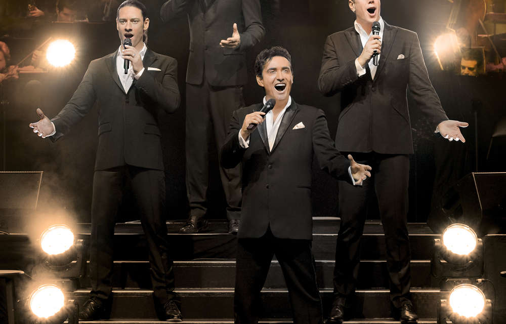 Win a Pair of Tickets to see Il Divo with very special guest Michael Ball and support from Bring It North At Alnwick Castle on 15th July 2018