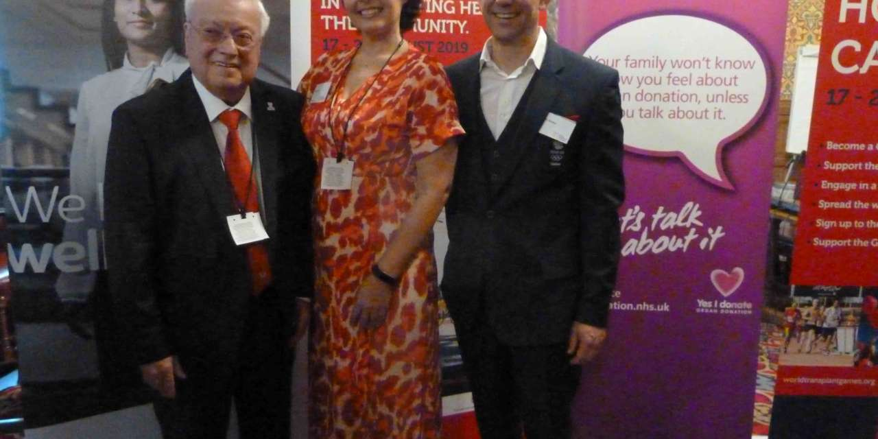 World Transplant Games showcased at House of Lords event