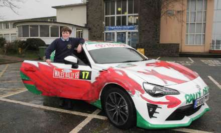 WIN! SPECIAL COMPETITION TO DESIGN A RALLY CAR'S LIVERY