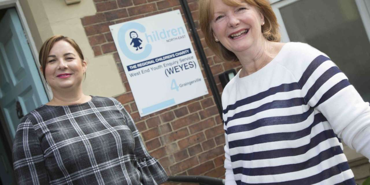 Newcastle business teams up with one of city's oldest charities