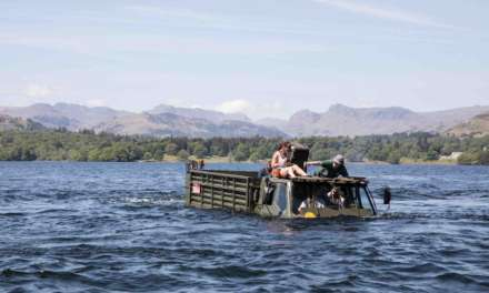 Low Wood Bay Marina hosts forces charity event