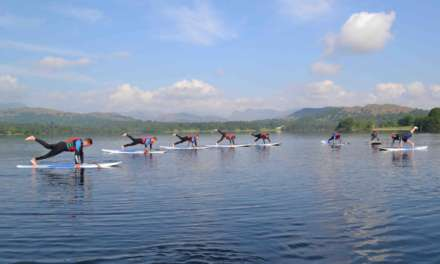 Paddlecise provides new route to health and fitness at Low Wood Bay
