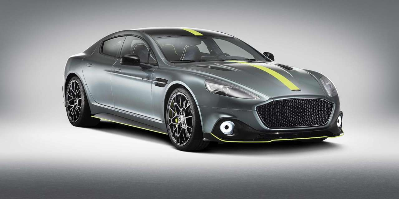 ASTON MARTIN RAPIDE AMR: A FOUR-DOOR WORTHY OF A RACING TEAM