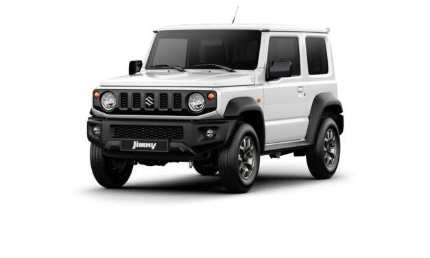 FIRST OFFICIAL IMAGES OF JIMNY