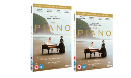THE PIANO – 25TH ANNIVERSARY – AVAILABLE ON BLU-RAY & DVD – 16TH JULY