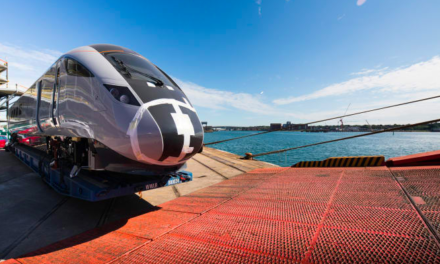 First of TPEs bullet train inspired fleet arrives in the UK