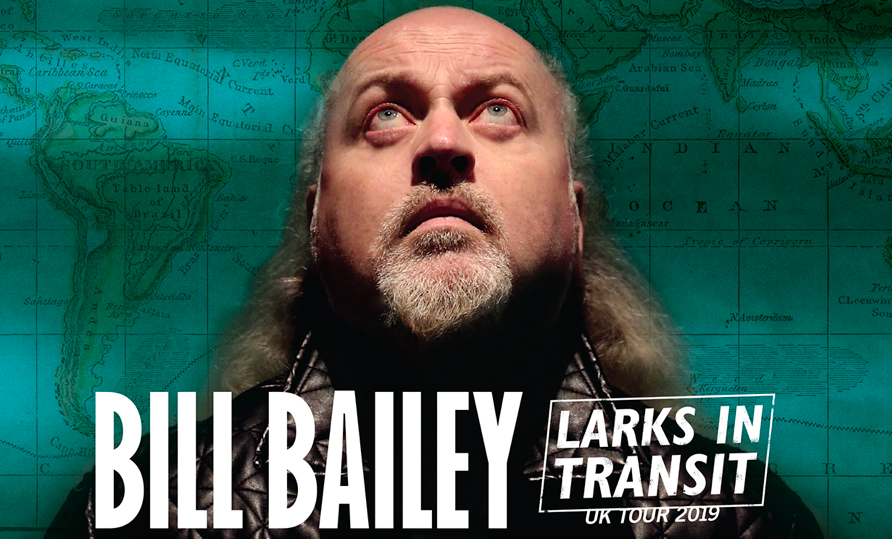 Just Announced Bill Bailey Returns to the Metro Radio Arena