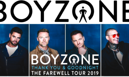 Just Announced Boyzone Thank You and Goodnight