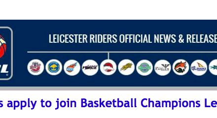 Riders apply to join Basketball Champions League