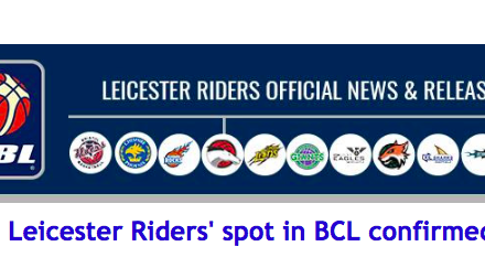 Leicester Riders' spot in BCL confirmed