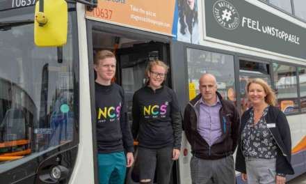 Stagecoach North East and National Citizen Service team up to boost career opportunities for local young people