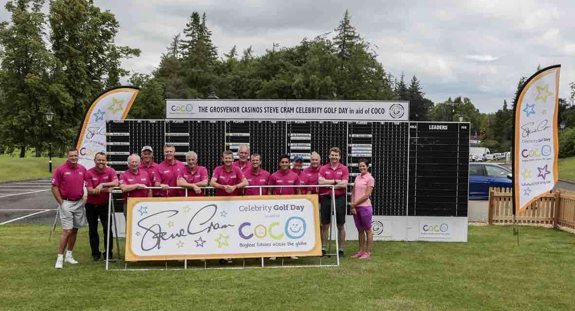 Sporting stars set to tee off for COCO at the 15th Steve Cram Celebrity Golf Day