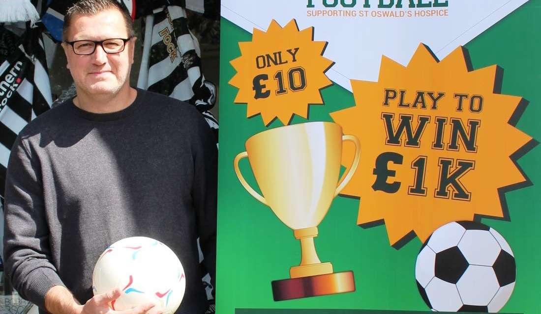 FANTASY FOOTBALL AND ST OSWALDS HOSPICE MAKE A DREAM TEAM