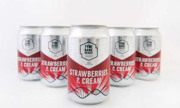 It's Strawberries and Cream season! Try it with a Tyne Bank Brewery twist