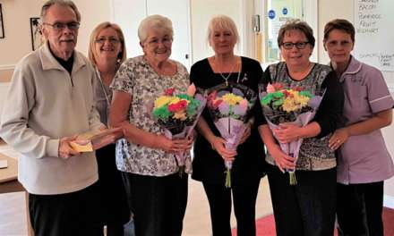 Volunteers celebrated at Peterlee care home