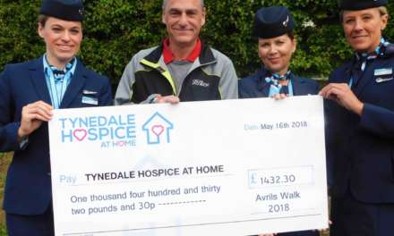 Walk for Avril raises £s for Hospice