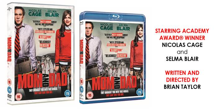 MOM AND DAD | On Blu-Ray & DVD 16 July