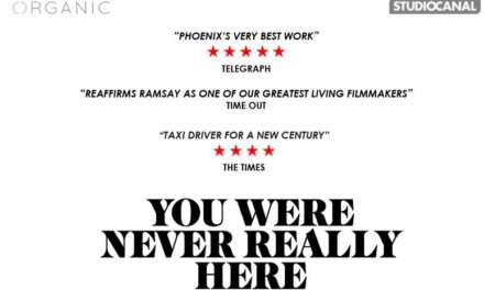 YOU WERE NEVER REALLY HERE | On DVD, Blu-ray and Digital, 2 July