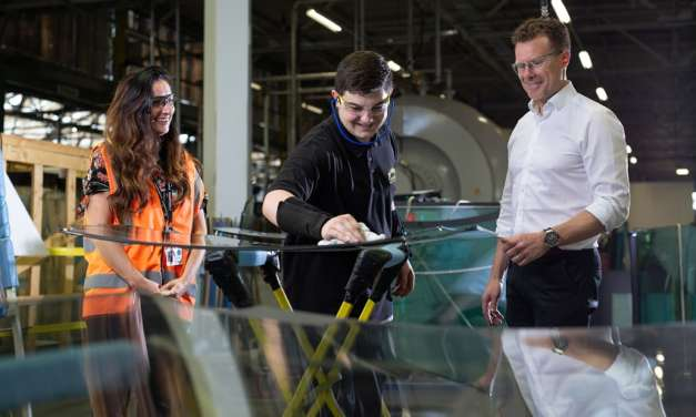 Investment in skills and equipment fuels glass processing firm's growth