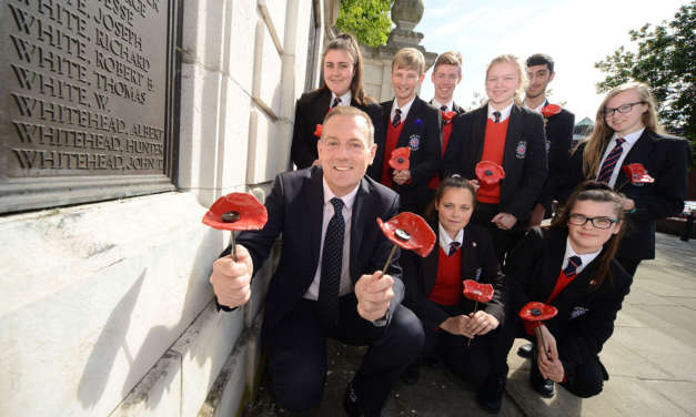 Entrepreneur joins Middlesbrough school's call for information on WW1 victims