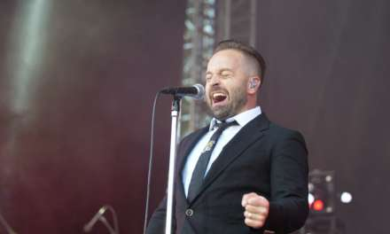 Alfie Boe's Armed Forces Day show at Scarborough Open Air Theatre