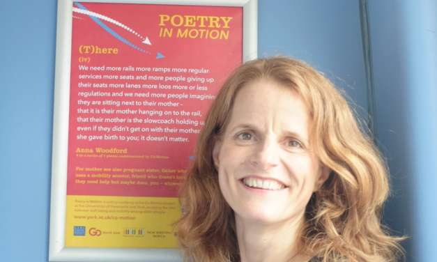 Poems launched on one hundred Go North East buses as part of the Great Exhibition of the North