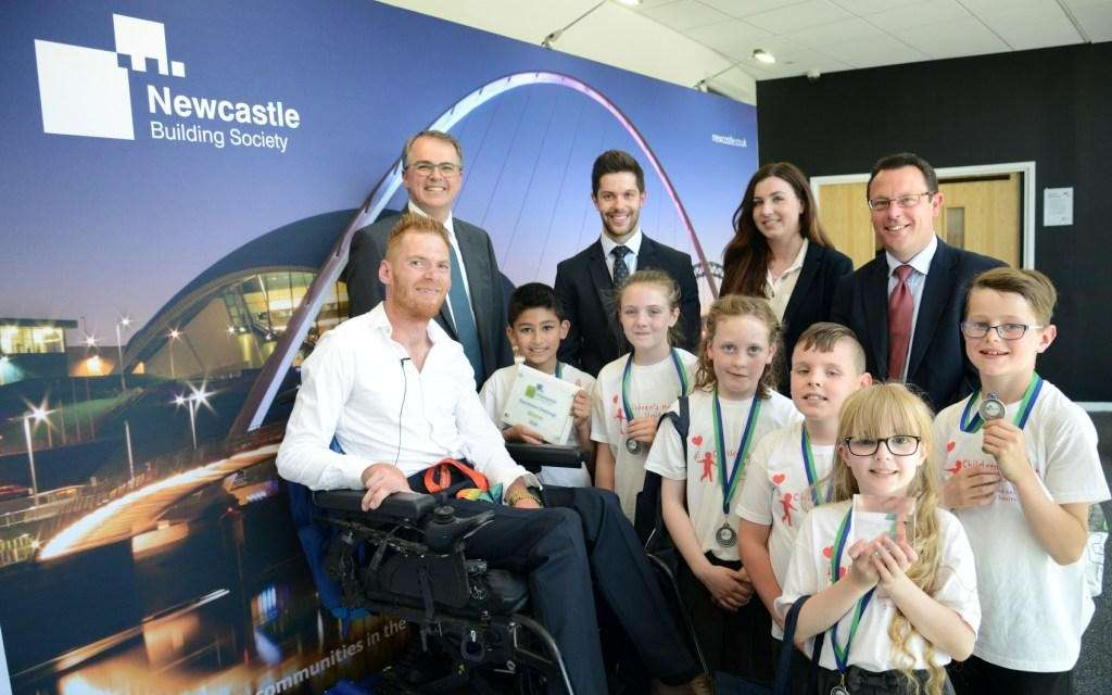 Rainbird Kids Fly To The Top In Newcastle Building Society's Boardroom Charity Challenge
