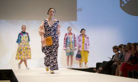 Northumbria fashion students showcase final year collections at catwalk show overlooking Newcastle Upon Tyne