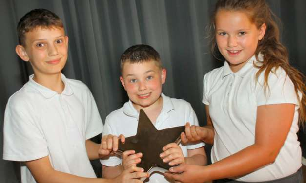Star pupils shine as achievement is recognised