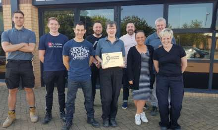 IT'S GOLD AGAIN FOR NEWCASTLE'S CMR UK