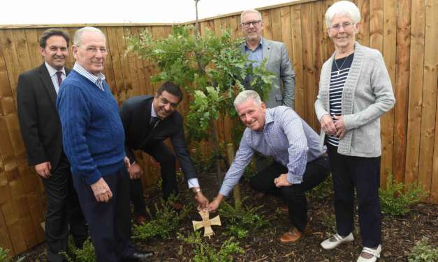 TEES VC HERO HONOURED AT OPENING OF NEW DEMENTIA CARE FACILITY