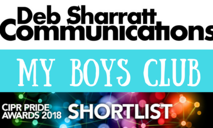 DebSharratt Communications Shortlisted for Prestigious PR Industry Award