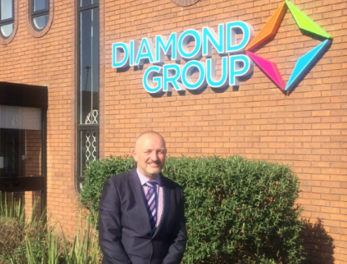 Diamond sparkles as new Commercial Director joins