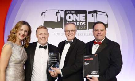 Further industry recognition for Go North East with double award shortlist