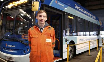 STAGECOACH NORTH EAST CALLS OUT FOR FUTURE ENGINEERS TO APPLY FOR APPRENTICESHIP SCHEME