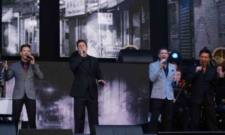 PICTURES: IL DIVO AT SCARBOROUGH OPEN AIR THEATRE