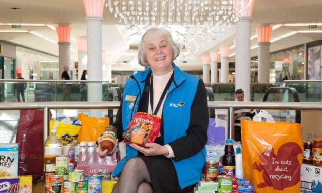 intu Metrocentre inundated by record breaking food bank donations
