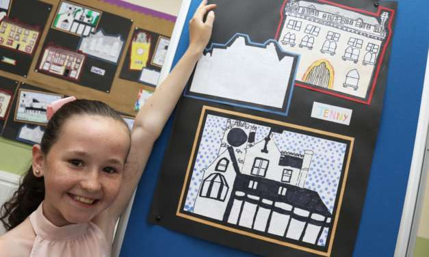 Pupils paint town for art exhibition