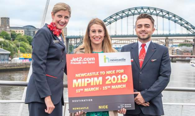 Invest Newcastle gets on board with Jet2.com for MIPIM 2019
