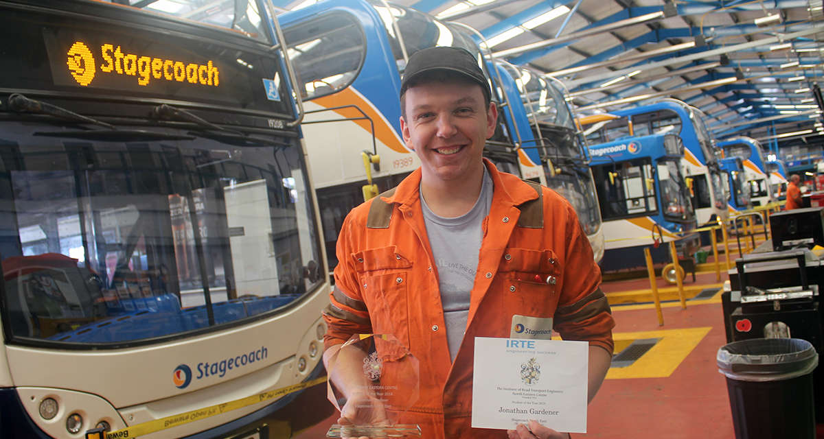 Engineering In The Blood As Jonathan Wins Regional Apprentice Of The Year Award