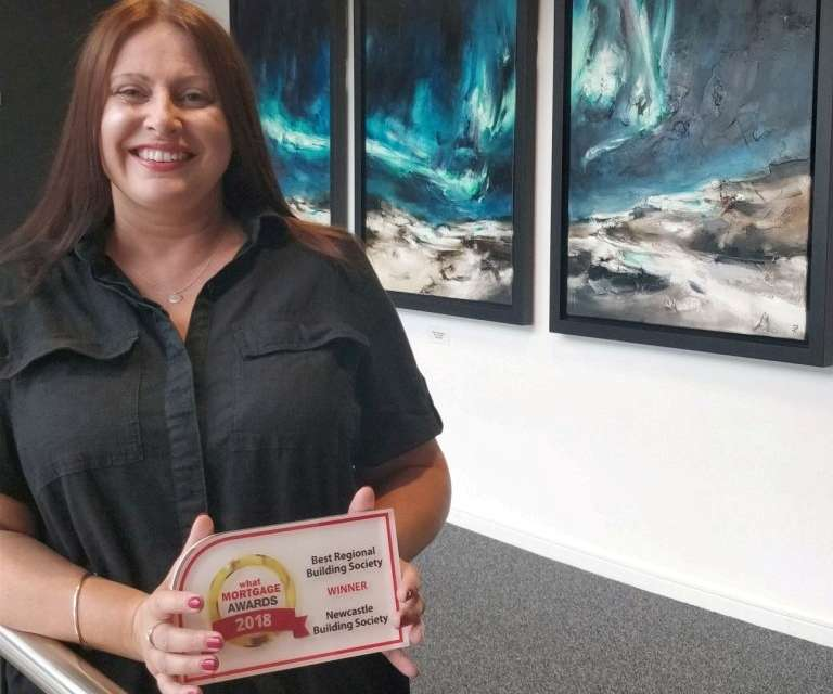 Newcastle Building Society scoops UK's Best Regional Building Society Award for the second year in a row