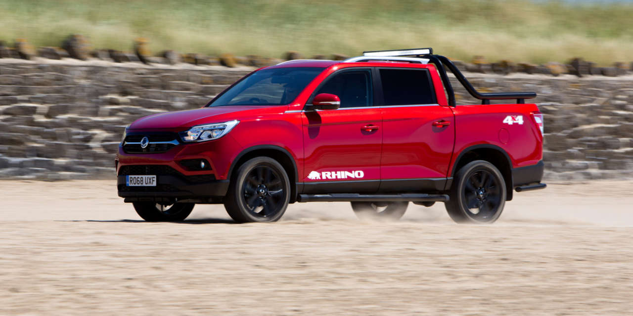 7-YEAR/150,000 MILE WARRANTY FOR NEW SSANGYONG MUSSO & REXTON AND EXTENDABLE TO THE RANGE