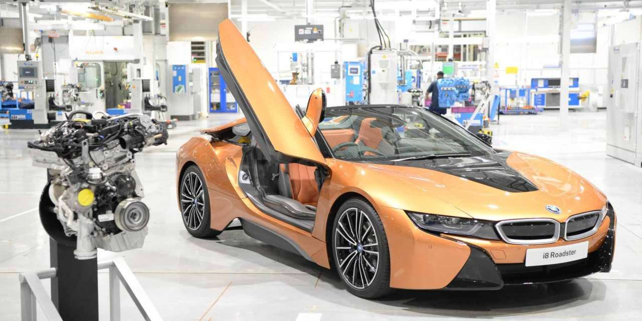 Bmw Group Engine Plant Gears Up For New Bmw I8 Roadster North East