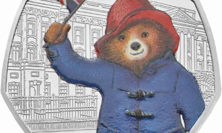 The Royal Mint announces a set of coins featuring Paddington™ the friendly Peruvian bear